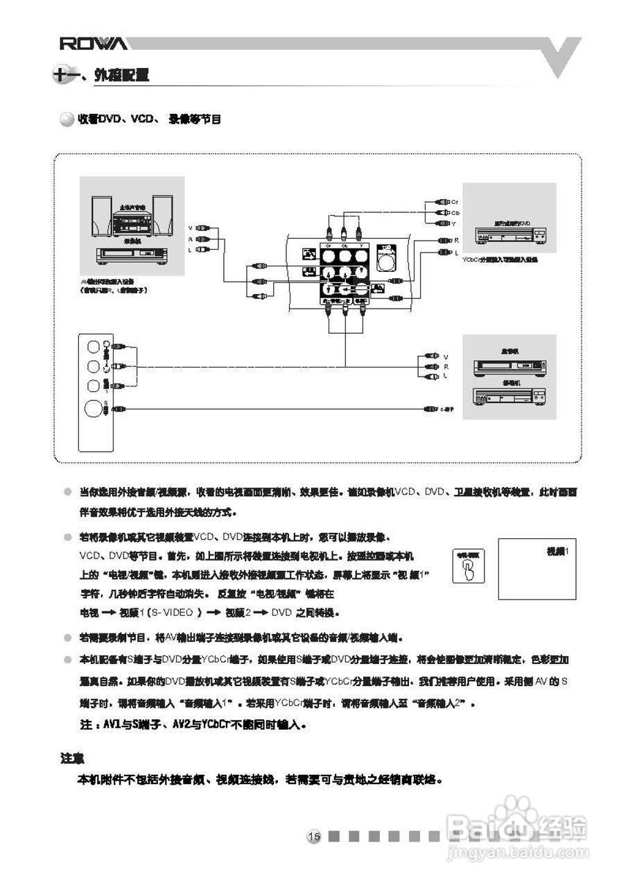 乐华n21g6彩电使用说明书